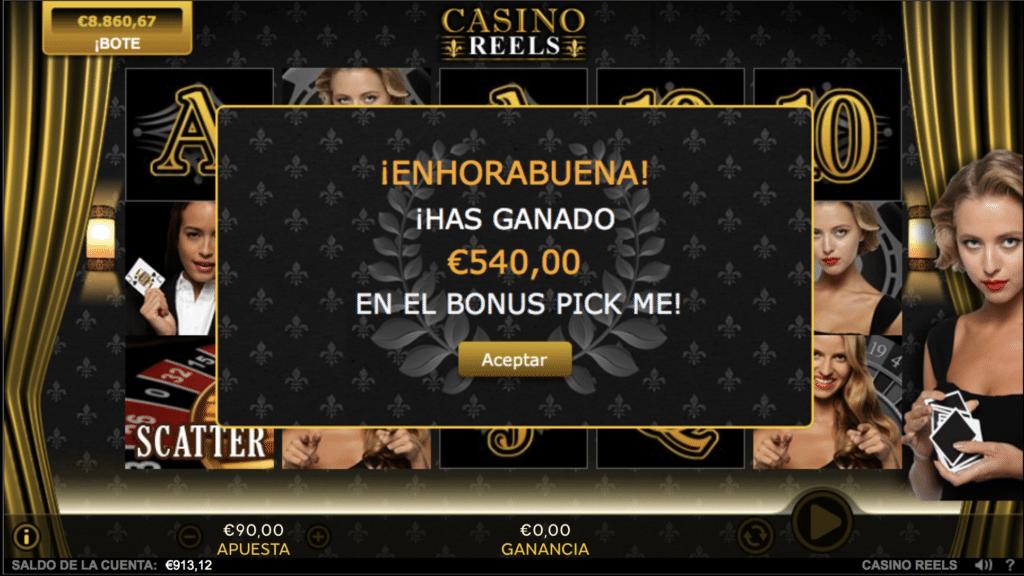 Casino Reels Pick Me