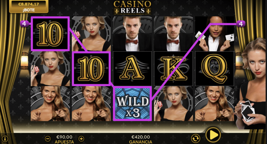 Casino Reels Wild x3