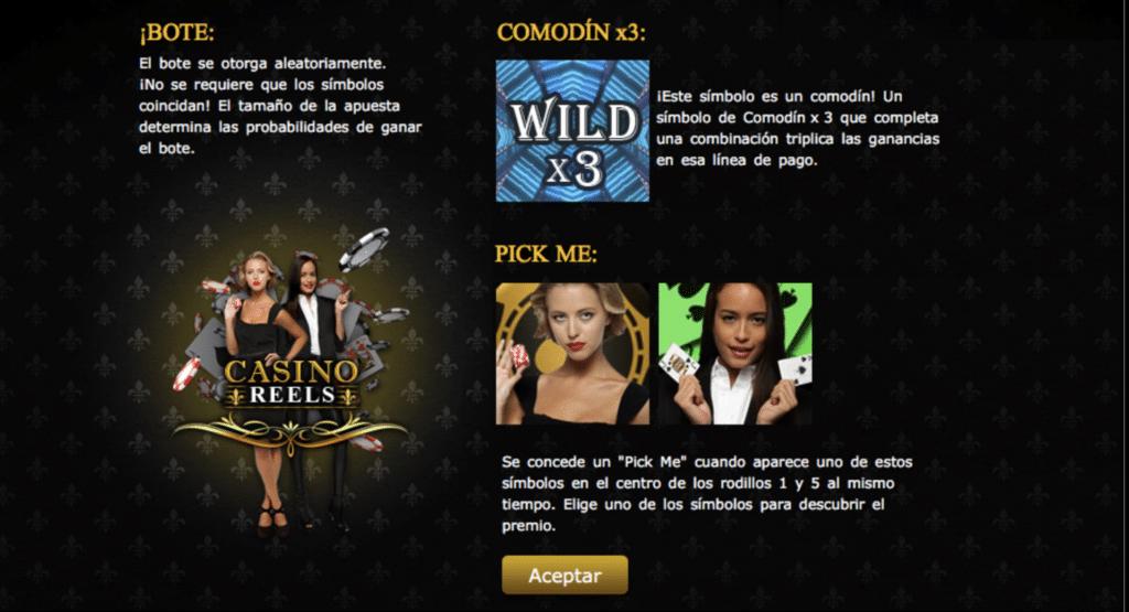 Casino Reels premios