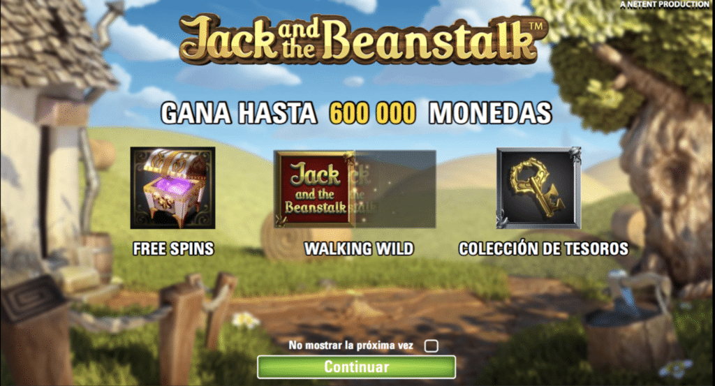 Jack and the beanstalk premios