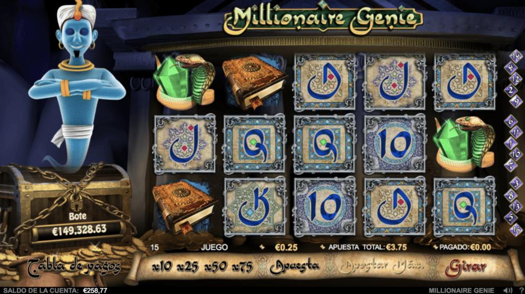 Millionaire Genie tragaperras