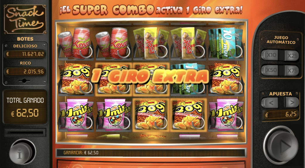 Snack Time giro extra