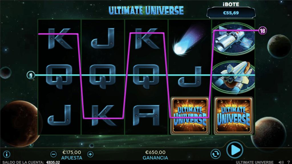 Ultimate Universe jugando