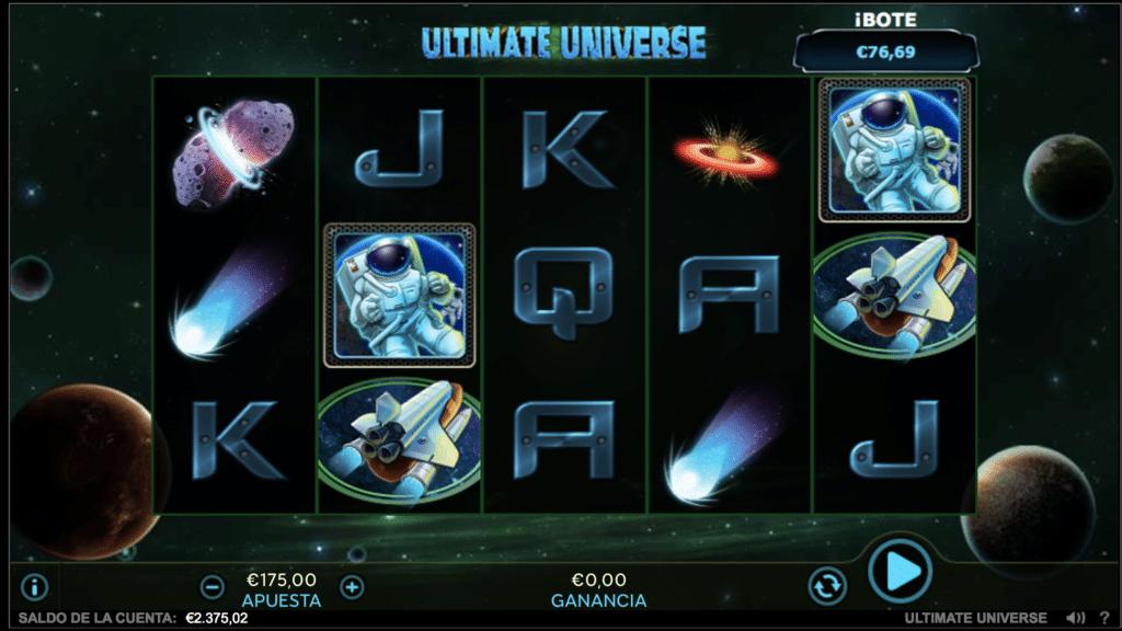 Ultimate Universe tragaperras