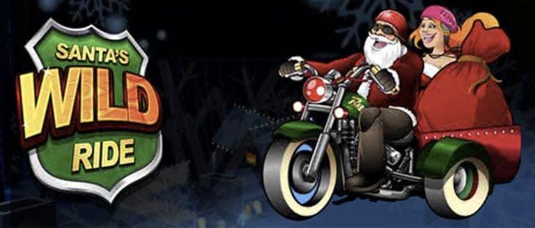Santa´s en su moto