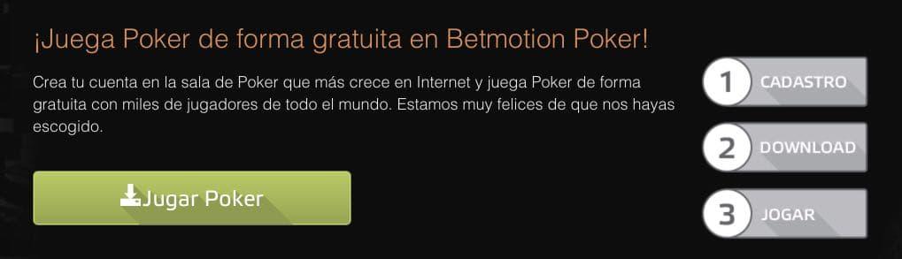 Betmotion póker