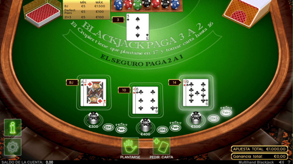 888Casino Blacjack
