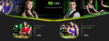 888Casino Ruleta en vivo