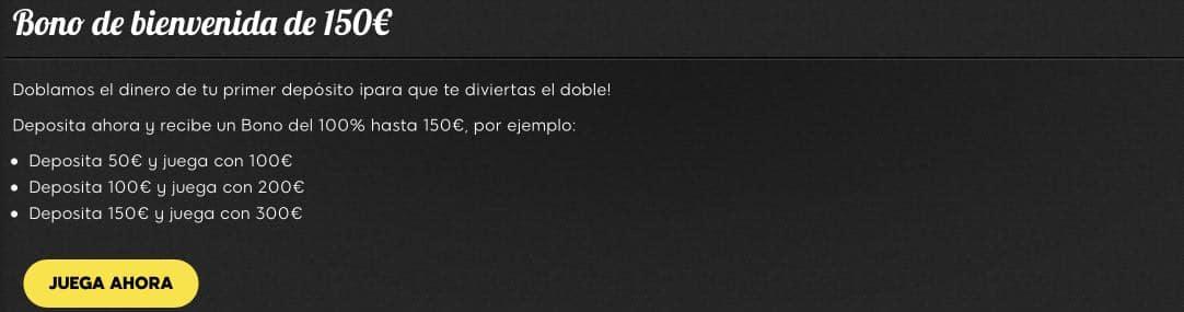 888Casino bono 150€