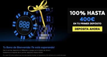 888poker bono 400€