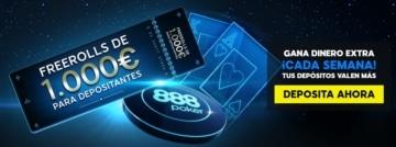 888poker free roll