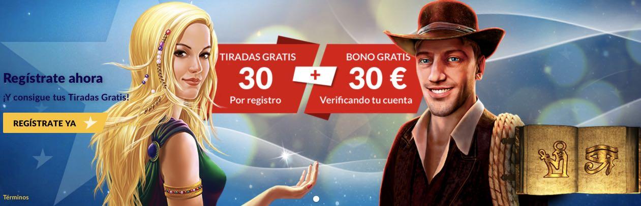 Bono StarVegas 30€