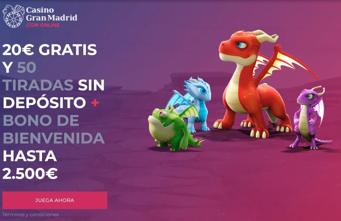 Bono nuevo Casino Gran Madrid
