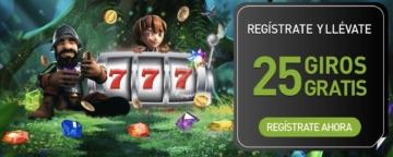 Casino777 25 giros gratis