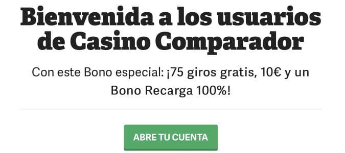 Paf Bono CasinoComparador