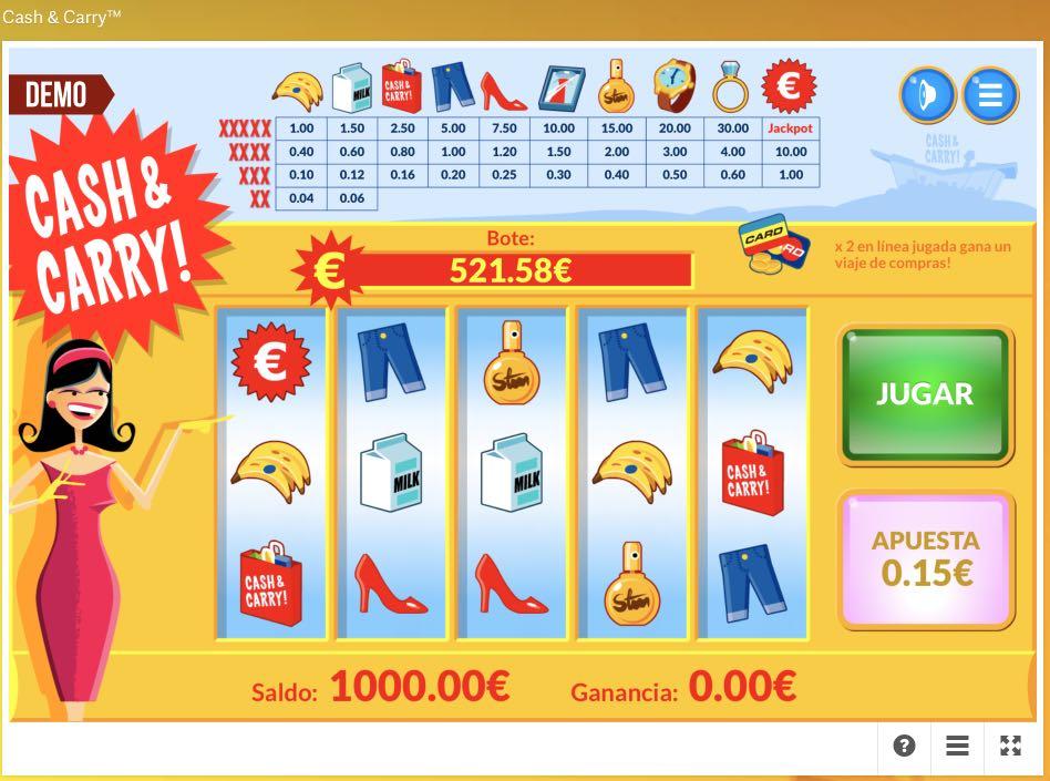 Slot Paf Cash&Carry - Paf bono