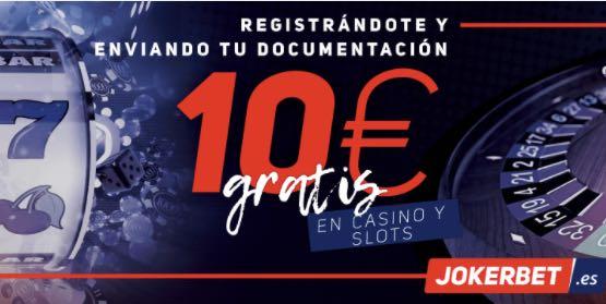 Jokerbet bono 10€