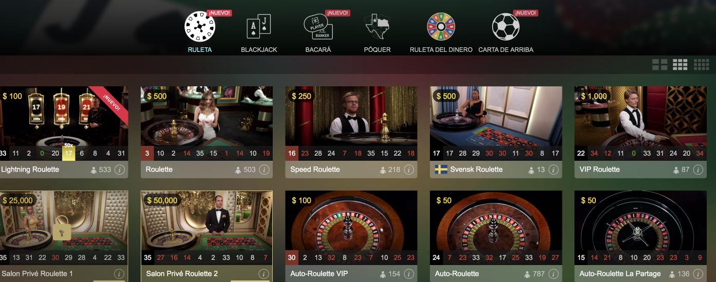 Live Casino Vera&John