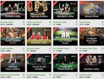 Unibet Casino en vivo
