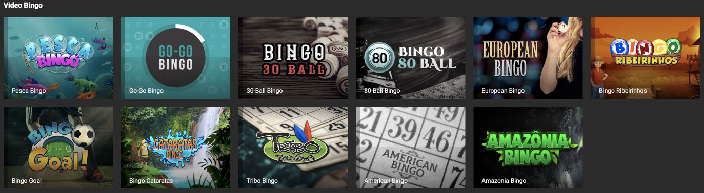 bodog Video Bingo