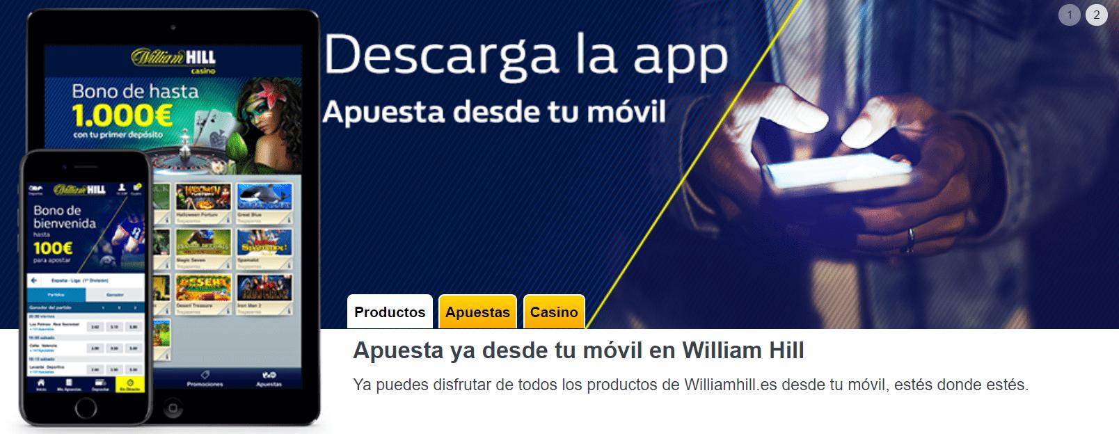 William Hill Casino Móvil