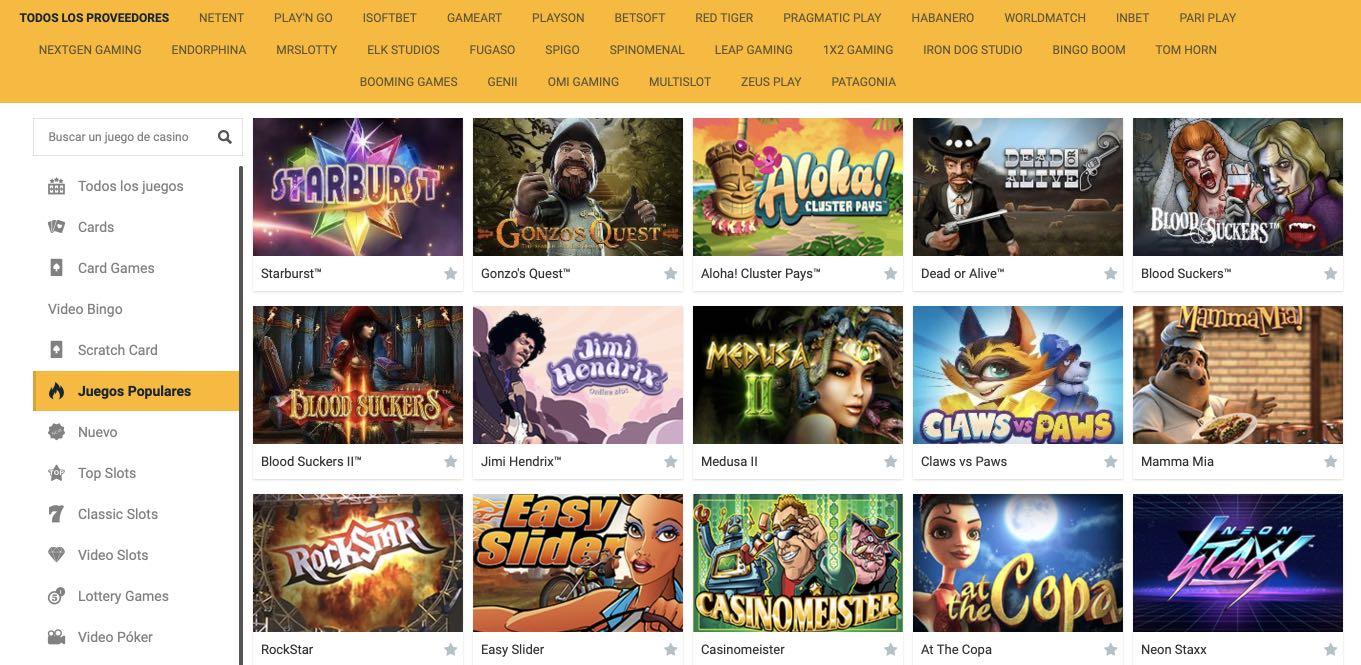 Campeonbet Casino Bono casino juegos