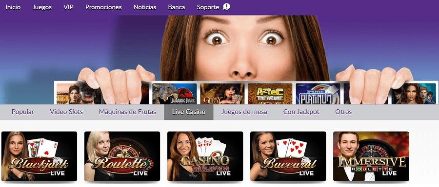 Omni Slots Bono Casino en Vivo