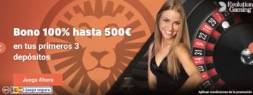 LeoVegas bono Casino en vivo