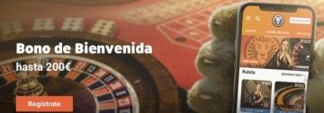 LeoVegas bono casino en vivo 200