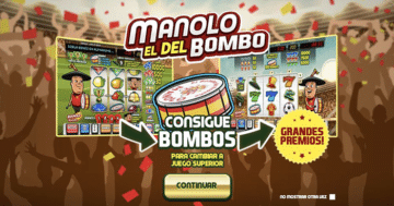 CasinoComparador Manolo el del Bombo tragaperras
