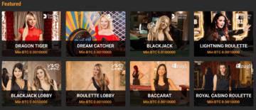 Cloudbet Casino Live