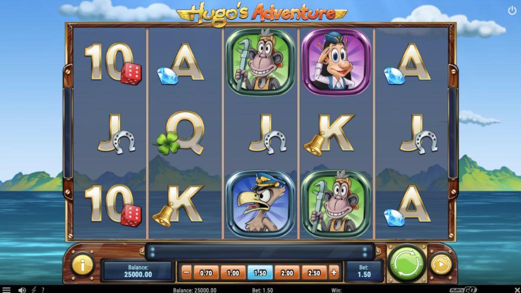 Hugo Play'n' GO
