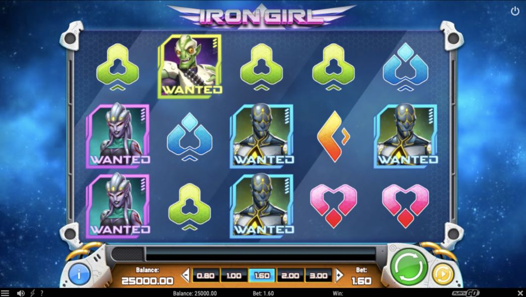 Iron Girl Play'n' Go