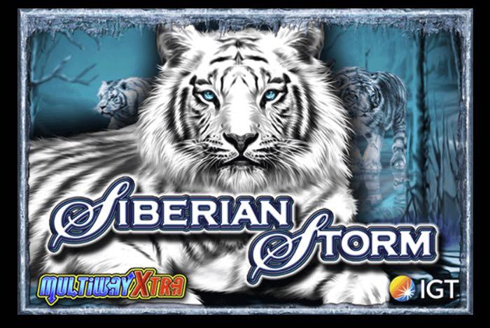 Siberian Storm tragaperras