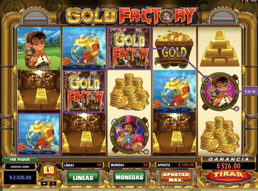 Gold Factory premio