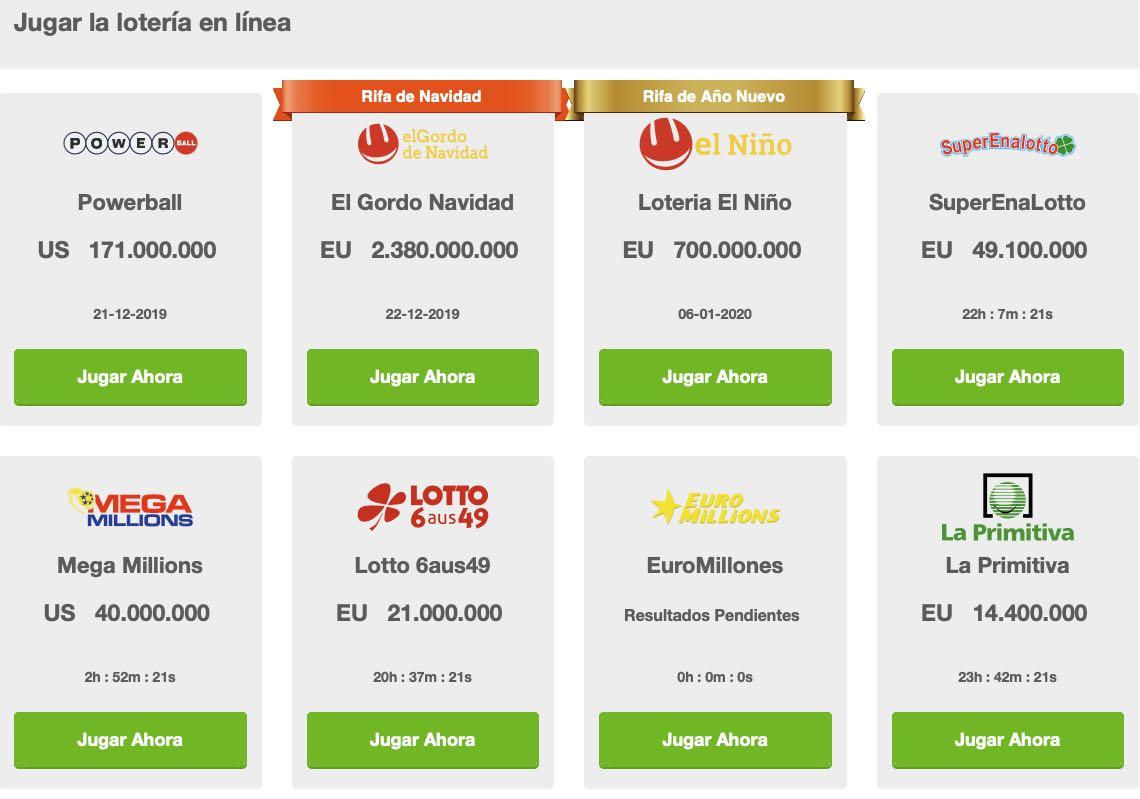Grandes Loterias