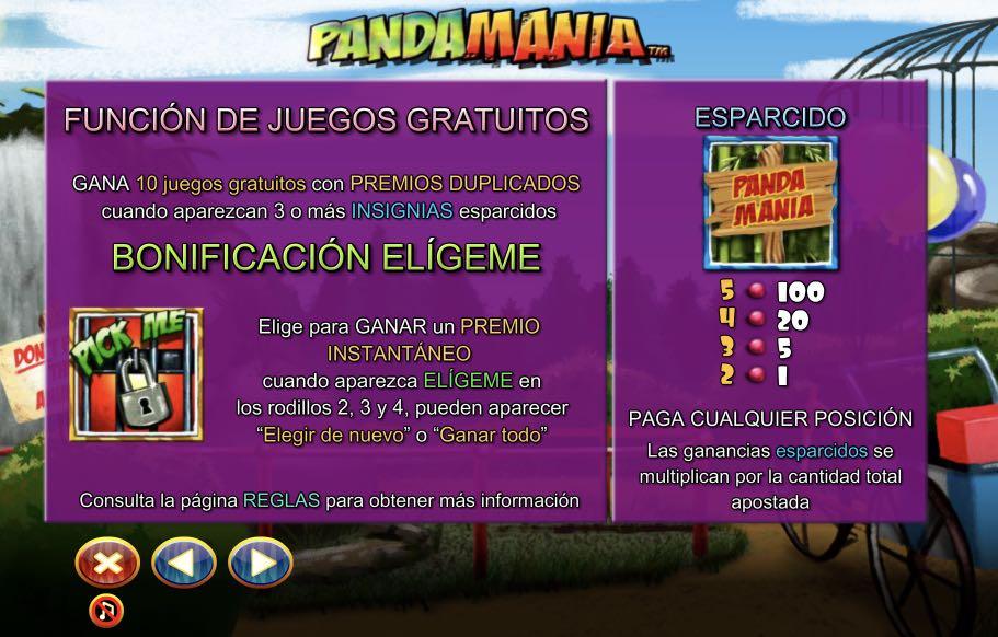 Pandamania premios