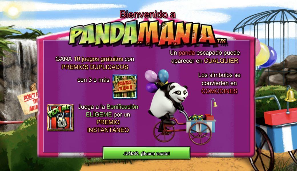 Pandamania presentación