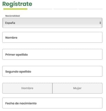 Sisal bono registro