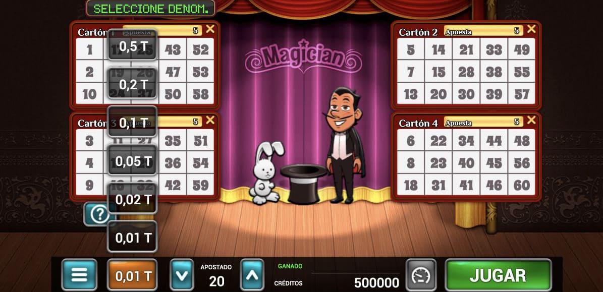 Magician VideoBingo