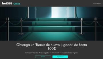 Bono de Bienvenida bet365 Casino