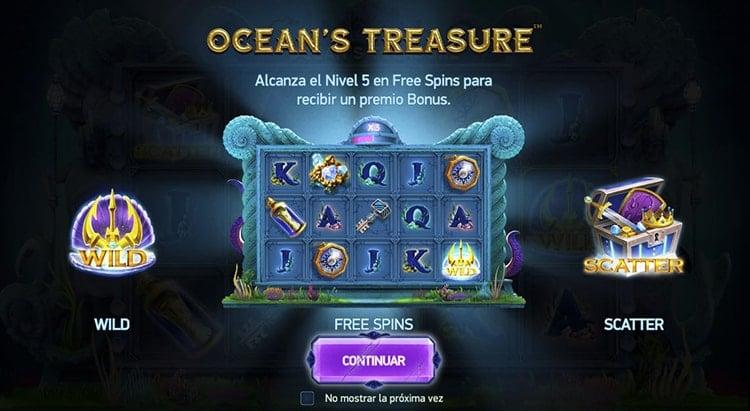 Ocean's Treasure tragaperras