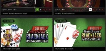 888Casino Live Blackjack