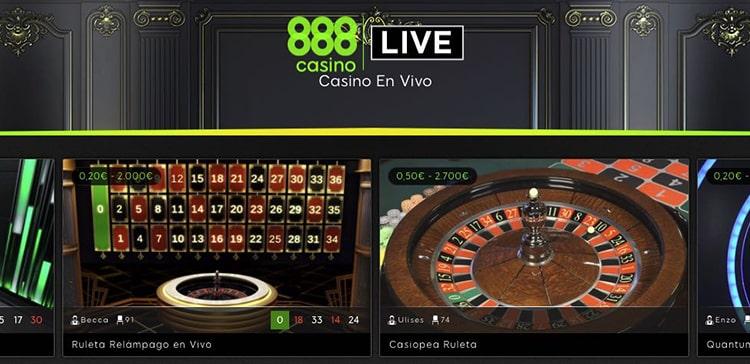 Live Casino 888Casino