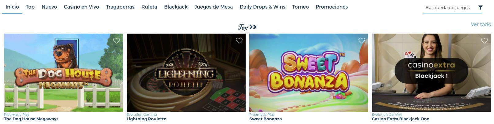 Juegos Casino Estrella