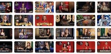 Casino en vivo de Vale