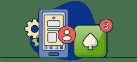 Imagen de apps en los casinos online reseña
