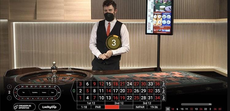 Ruleta en Vivo Mansion Casino