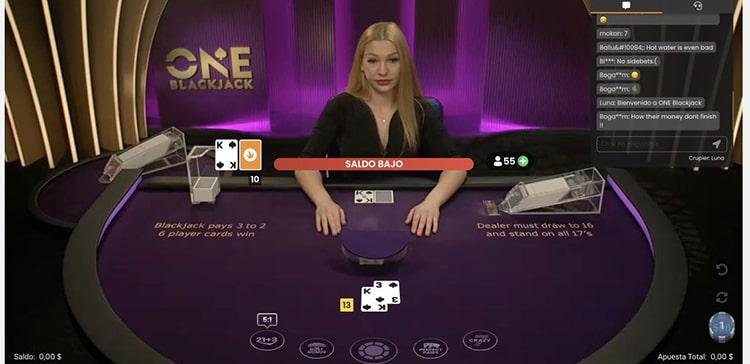 Spin Casino Blackjack